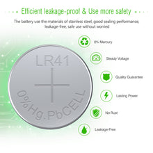 Load image into Gallery viewer, EBL LR41/AG3/392/192 Alkaline Batteries Button Cell - EBLOfficial