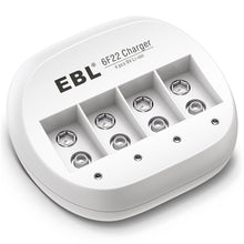 Load image into Gallery viewer, EBL 9V  4 Bay Battery Charger - EBLOfficial