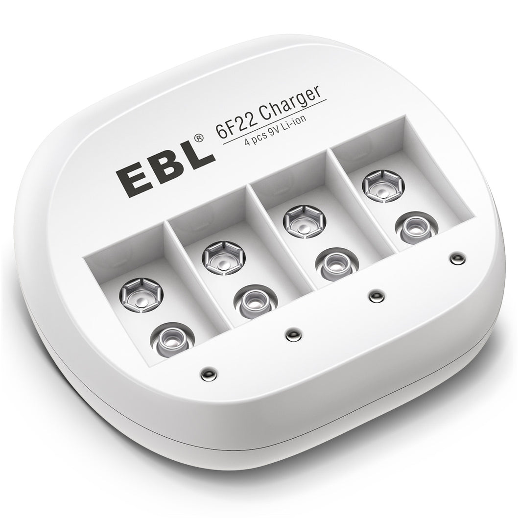 EBL 9V  4 Bay Battery Charger - EBLOfficial