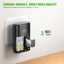 Load image into Gallery viewer, EBL Smart Rapid Battery Charger - EBLOfficial