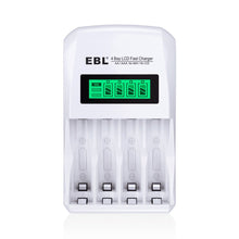 Load image into Gallery viewer, EBL LCD Smart Individual Rechargeable Battery Charger - EBLOfficial