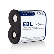 Load image into Gallery viewer, EBL CR-P2 6V 1400mAh Lithium Photo Battery - EBLOfficial