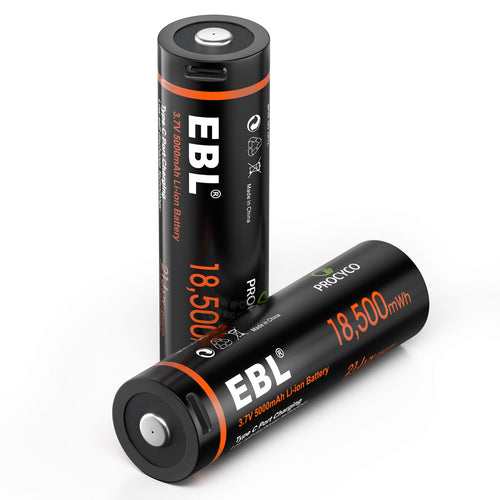 EBL 18,500mWh 21J Lithium battery - EBLOfficial