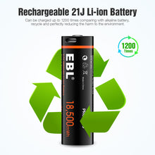 Load image into Gallery viewer, EBL 18,500mWh 21J Lithium battery - EBLOfficial