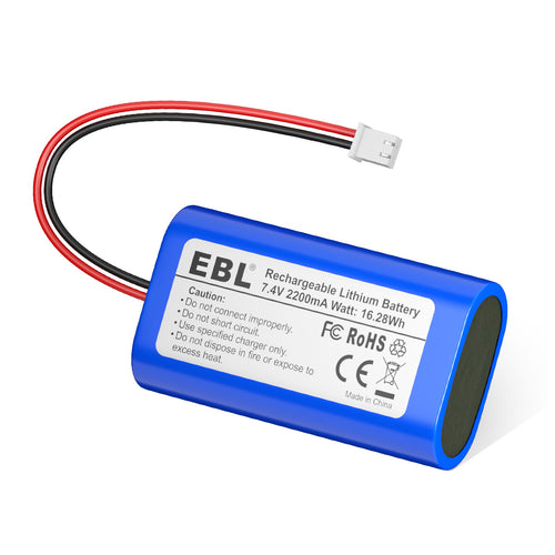 EBL 7.4V 2200mAh Li-ion Rechargeable Batteries - EBLOfficial
