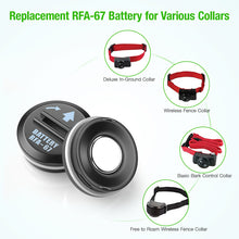 Load image into Gallery viewer, EBL 10 Pack RFA-67 6 Volt Pet Collar Replacement Batteries - EBLOfficial
