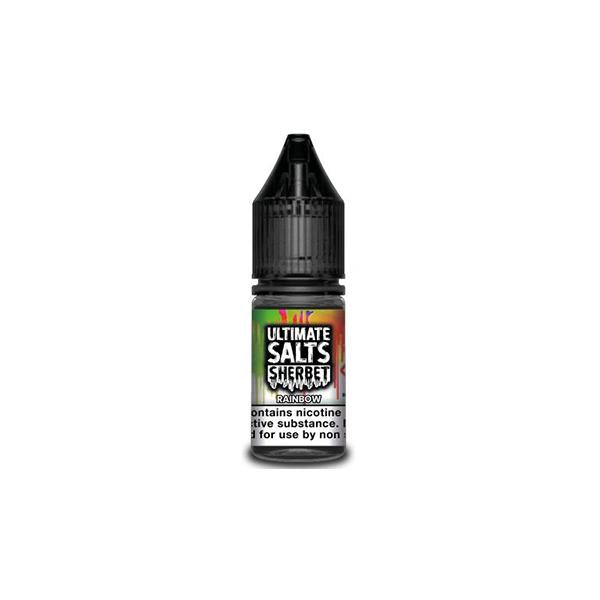 10MG Ultimate Puff Salts Sherbet 10ML Flavoured Nic Salts (50VG/50PG) - Unholy Vape
