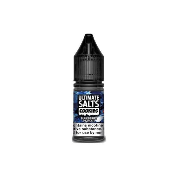 10mg Ultimate Puff Salts Cookies 10ML Flavoured Nic Salts (50VG/50PG) - Unholy Vape