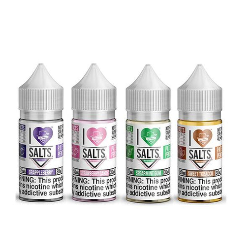 20MG I Love Salts by Matter Hatter Juice 10ML Flavoured Nic Salts (50VG/50PG) - Unholy Vape