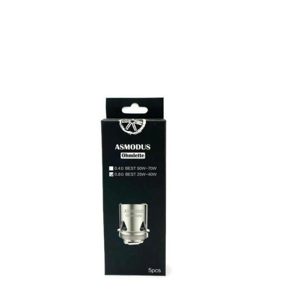 Asmodus Ohmlette Coils – 0.8 / 0.4ohm - Unholy Vape