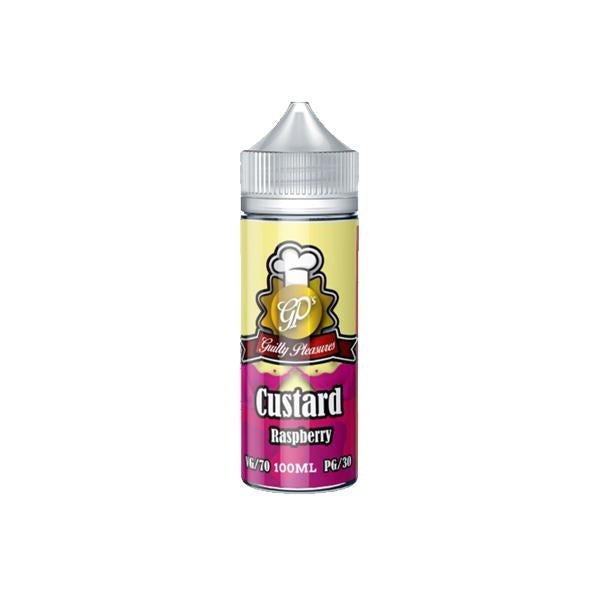 Guilty Pleasures Custard 0mg 100ml Shortfill (70VG/30PG) - Unholy Vape