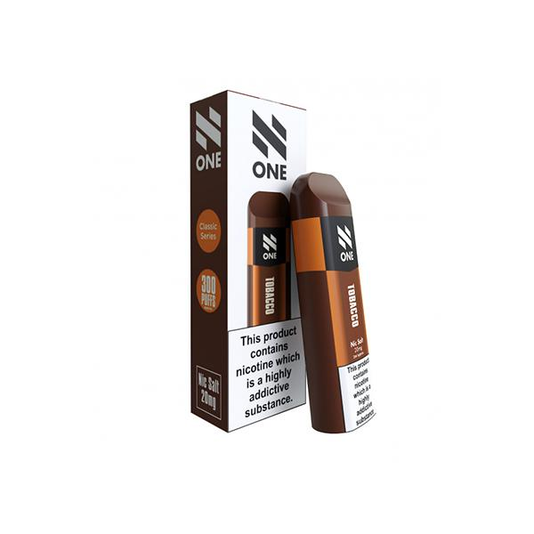 N One Disposable 20MG Nic Salt Vape Pod - Unholy Vape