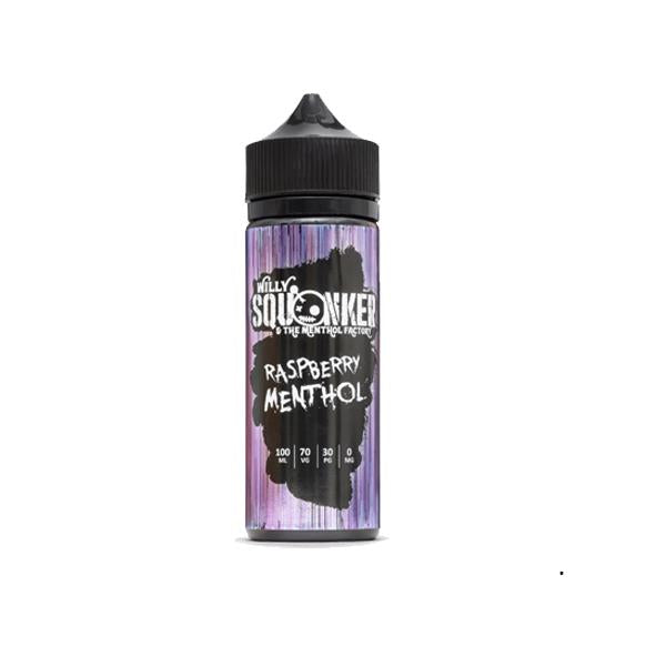 Willy Squonker and the Menthol Factory 0mg 100ml Shortfill (70VG/30PG) - Unholy Vape