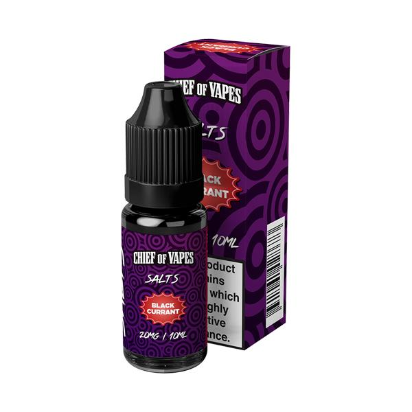 20mg Chief of Vapes Sweets Flavoured Nic Salt 10ml (50VG/50PG) - Unholy Vape