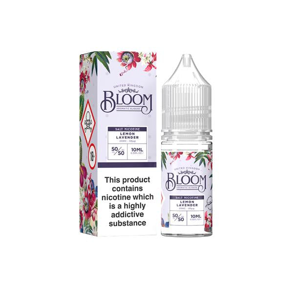 20mg Bloom Nic Salt 10ml (50VG/50PG) - Unholy Vape