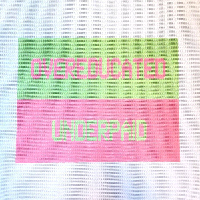 Overeducated, Underpaid