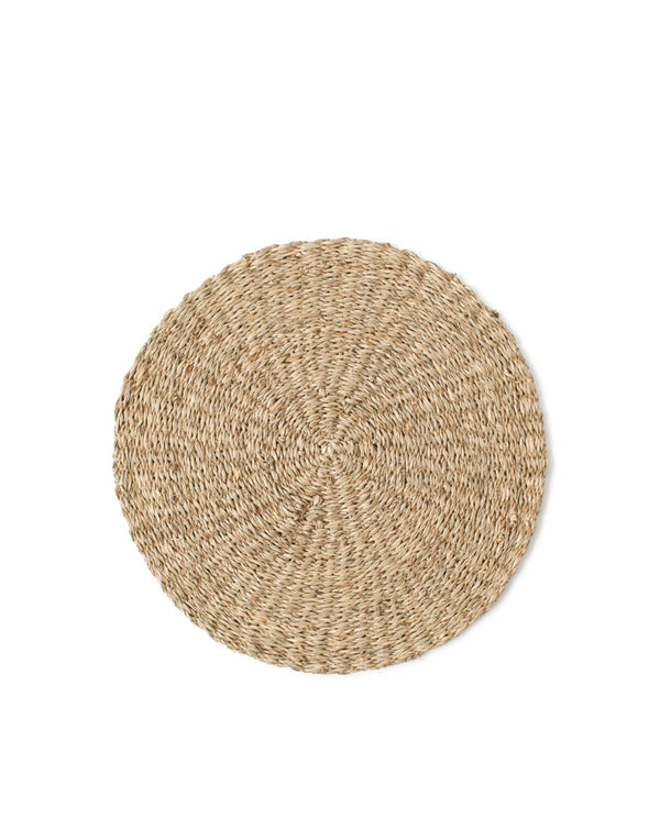 Lexington Seagrass Round Placemat natural