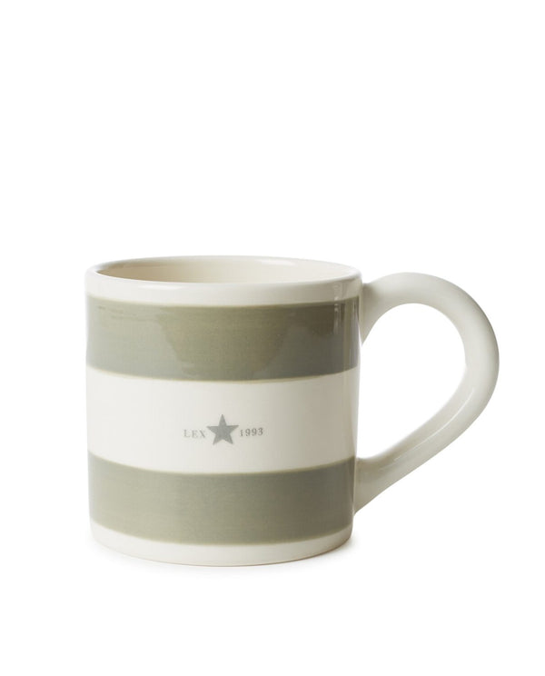 Lexington Mug Green halk 9,5 cm, kork 9 cm