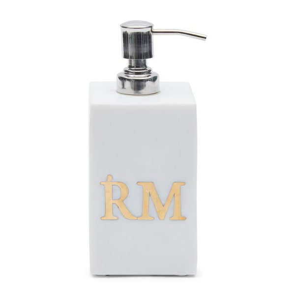 Riviera Maison Magic Marble Soap Dispencer white
