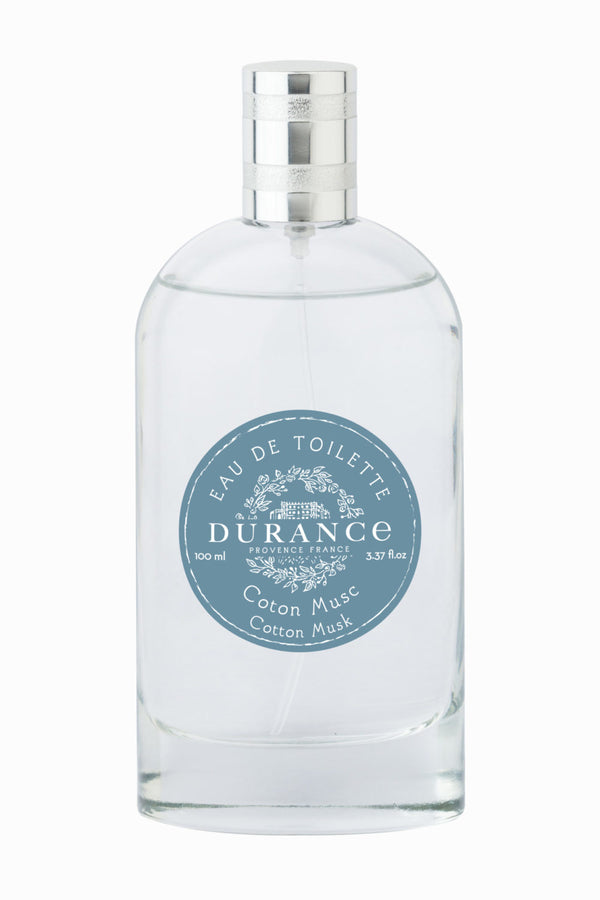 Durance Eau de Toilette Cotton Musk 100 ml