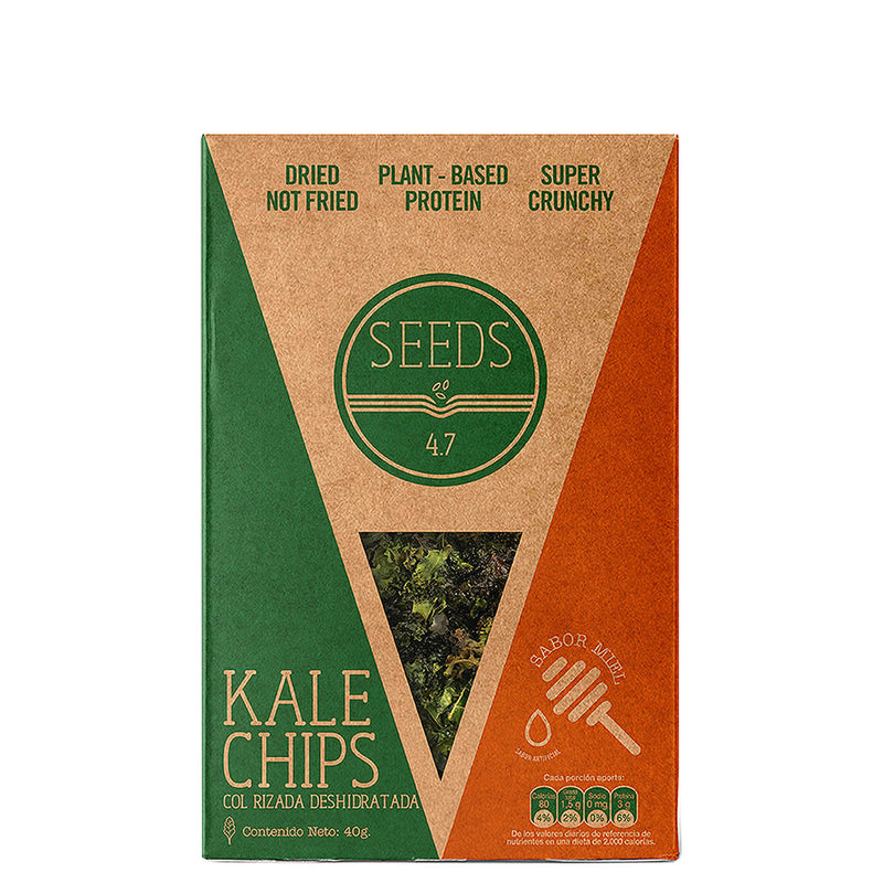 Kale Chips Miel Seeds x 40gr