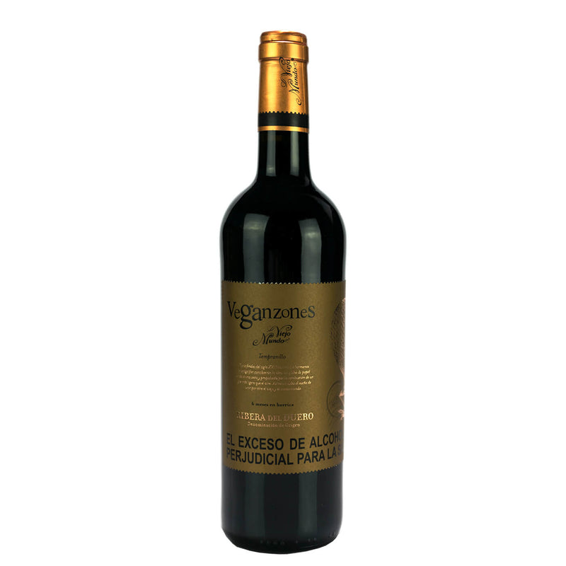 Vino Veganzones Roble x 750 ml