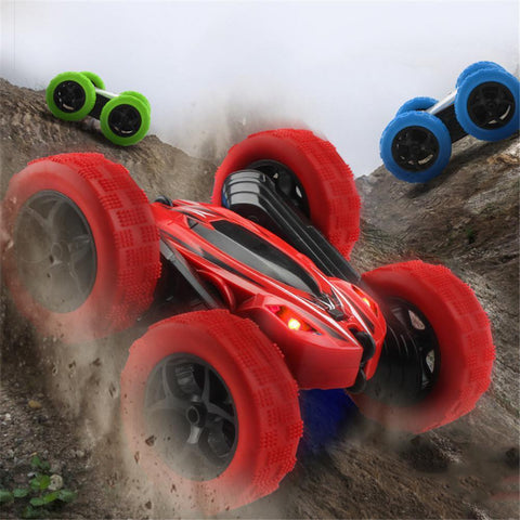 360 Degrees Rotating Double Sided RC Stunt Car with Light|Toy for Kids RC Cars