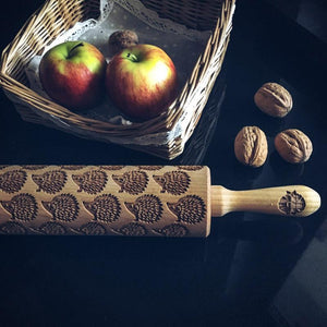 Pastrymade HEDGEHOG ROLLING PIN Pastry Tool and Baking Utensil for Homemade Cookies