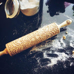 Pastrymade MAJESTIC ROLLING PIN Pastry Tool and Baking Utensil for Homemade Cookies
