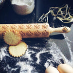 Pastrymade BABY OWLS ROLLING PIN Pastry Tool and Baking Utensil for Homemade Cookies