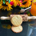 Pastrymade HONEYCOMB KIDS ROLLING PIN Pastry Tool and Baking Utensil for Homemade Cookies