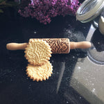 Pastrymade MAJESTIC KIDS ROLLING PIN Pastry Tool and Baking Utensil for Homemade Cookies