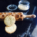 Pastrymade RAY ROLLING PIN Pastry Tool and Baking Utensil for Homemade Cookies