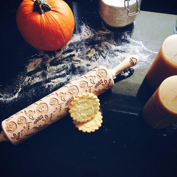 Pastrymade GHOST ROLLING PIN Pastry Tool and Baking Utensil for Homemade Cookies
