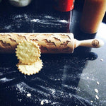 Pastrymade BAT ROLLING PIN Pastry Tool and Baking Utensil for Homemade Cookies