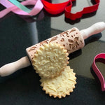 Pastrymade UNICORN KIDS ROLLING PIN Pastry Tool and Baking Utensil for Homemade Cookies