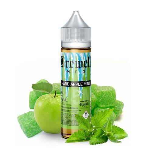 Brewell - Hard Apple Mint #45 Menthol Ejuice-Fern Pine Distro