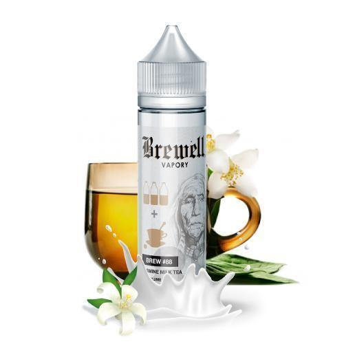Brewell - Jasmine Milk Tea Brew #88 Ejuice-Fern Pine Distro