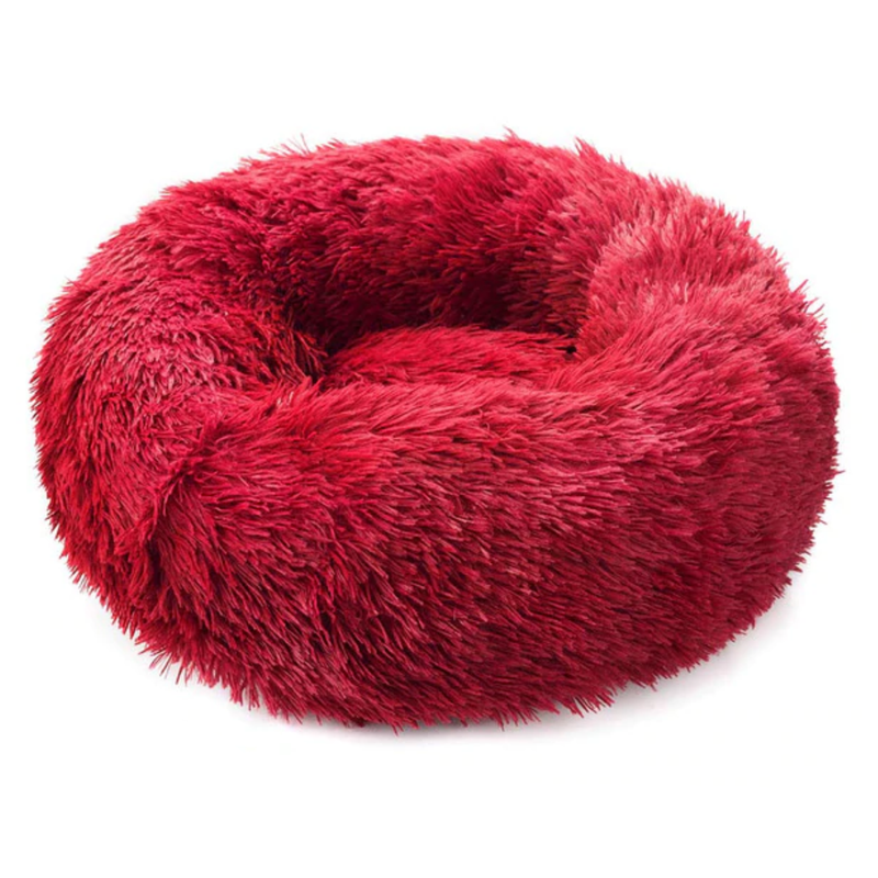 Pawppy Super Soft Pet Bed Soothing Dog Bed Cat Bed Puppy Mypawppy Pawppy red