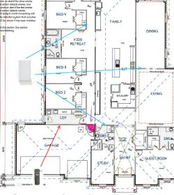 Can My House Plans Be Marked With Vacuum Point Locations Aussievac