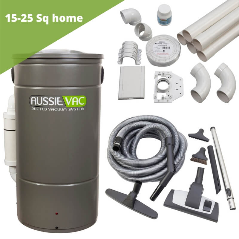 Ducted vacuum installation kit - 2 point