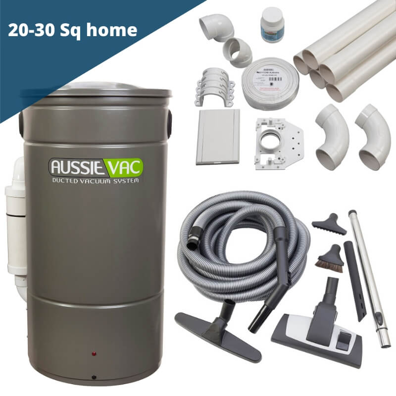Ducted vacuum installation kit - 3 point