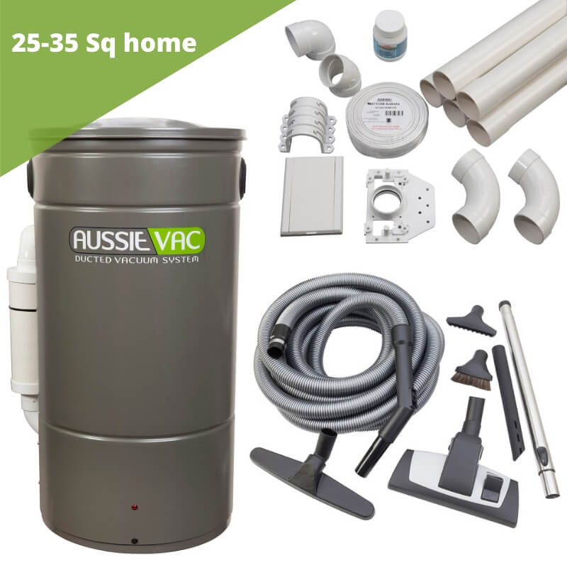 Ducted vacuum installation kit - 4 point