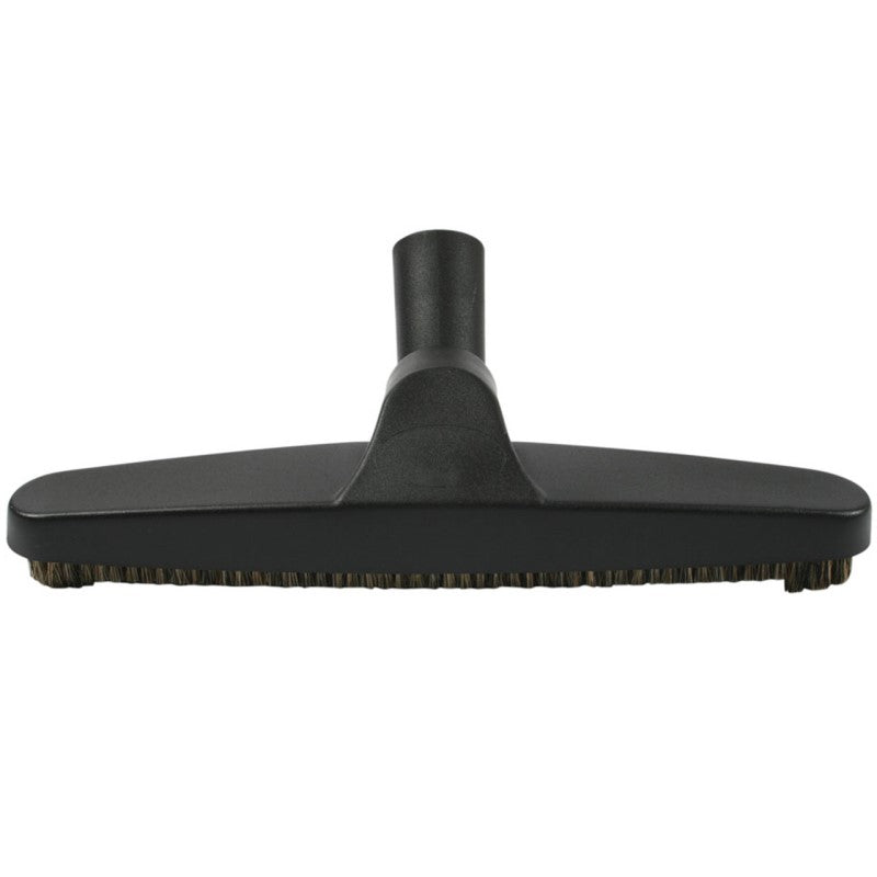 Vacuum hard floor brush with natural bristle