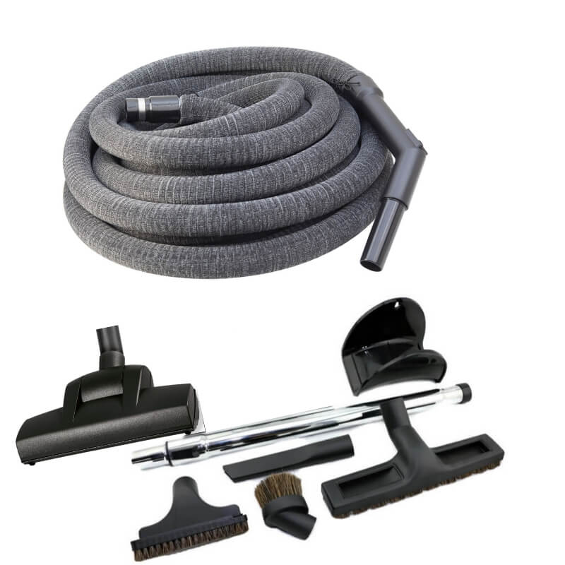 ducted vacuum hose kit essential with turbo head and sock