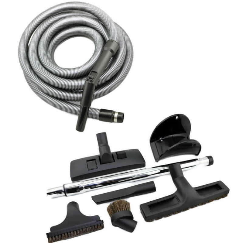 ducted vacuum hose and accessory kit