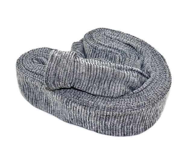 Ducted Vacuum Hose Sock, Knitted Charcoal