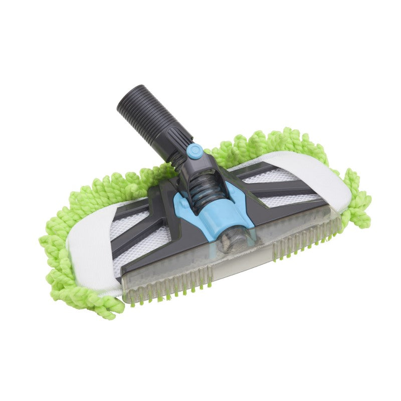 Micromop ducted vacuum cleaning attachment