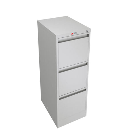 ausfile-3-drawer-vertical-filing-cabinet-fc-3 Grey vertical cabinet