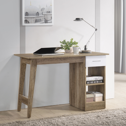 Wooden Scandinavian Computer Desk - Oak desk